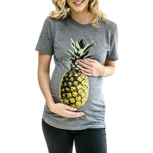 Produce Pineapple Maternity T-Shirt